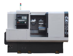 Ck6150-D Used Metal CNC Lathe Machine (linear guide way) pictures & photos