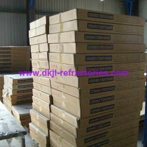 High Zirconium Ceramic Fiber Board for High Temperature Fireplace Heat Insulation pictures & photos