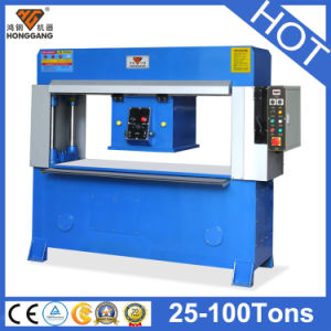 Hg-C25t Hydraulic Traveling Head Cutting Machine for Fabric, Leather, Foam pictures & photos