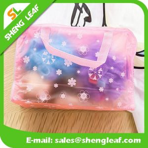 Eco Recycled Cheap Wholesale Custom Transparent PVC Bag pictures & photos