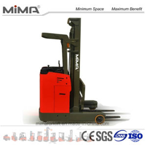 Electric Reach Truck with Lift Height 3.0m to 7.5m pictures & photos
