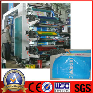 Stack Six Color Flexo Printing Machine pictures & photos