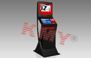Dual Screen Self Service Payment Kiosk with Bill Acceptor pictures & photos
