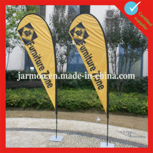 100% Polyester Cheap Teardrop Flag pictures & photos