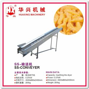 Twist Snack Production Line (Corn Snack Extruder Extrusion System Corn Snack/Crack 80-120Kg/h) pictures & photos