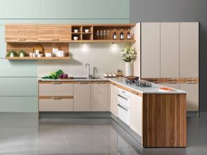 MDF White Melamine Kitchen Cabinet pictures & photos
