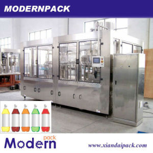 Pet Bottle Carbonated Filling Machine/CSD Drink Filling Machine pictures & photos