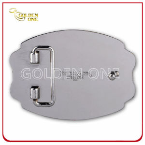 Customized High Quality Two Tone Finsh Metal Belt Buckle pictures & photos