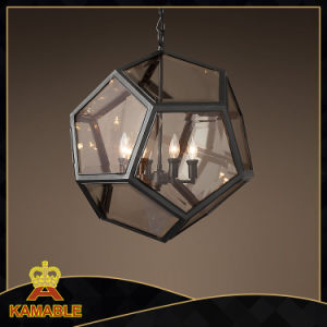 Decorative Glass Lantern Pendant Lamps (KM0202P-4) pictures & photos