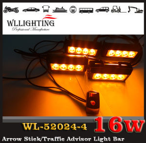 Car Amber LED Surface Mount Warning Light Bars pictures & photos