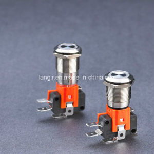 L19b 19mm Big Current Anti Vandal Switch pictures & photos
