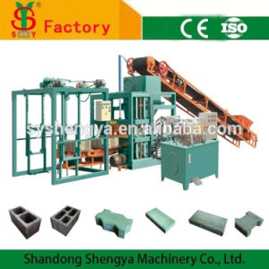 Qt4-20 Semi Automatic Concrete Paver Block Making Machine Prices pictures & photos