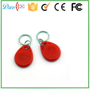 25kHz Em ID or 13.56MHz F08 S50 S70 RFID ABS Keyfob for Access Control System pictures & photos