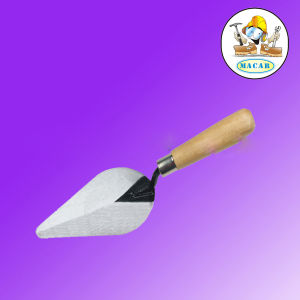 Portable Plasctic Spade Shovel &Pusher &Scrape with Wooden Handle