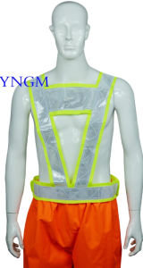 Reflective Safety Workwear Vest with High Visibility and Good Quality pictures & photos