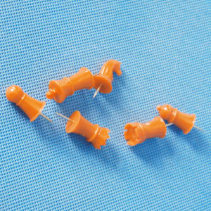 Wholesale Coloured Plastic Chess Push Pin (QX-HP009) pictures & photos