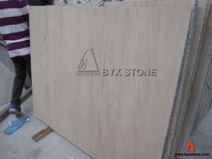 Beige Limestone Composite Aluminium Honeycomb for Wall Cladding Project pictures & photos