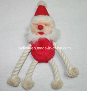 X′mas Rope Dog Toy Pet Plush Dog Product pictures & photos