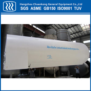 Horizontal Cryogenic Liquid Oxygen Nitrogen Argon Tank pictures & photos