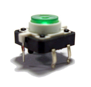 Tact Dust-Proof PCB Spst Miniture Electronic Waterproof Switch