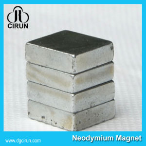 Strong Sintered N33ah Neodymium Block Magnet pictures & photos