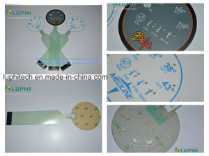 Backlights Metal Domes Flat Membrane Switch for Medical Equipment (MIC-0100) pictures & photos
