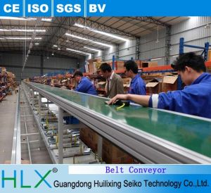PU PVC Belt Conveyor with Ce Certificates pictures & photos
