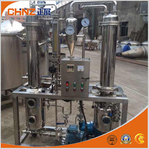 5L Single Effect Electric Heating Falling Film Vacuum Evaporator for Lab Using pictures & photos
