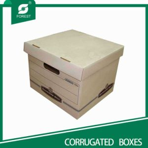 Corrugated Cardboard File Box (FP11023) pictures & photos