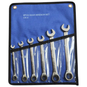6PCS Spanner Gear Wrench Set (JD600)