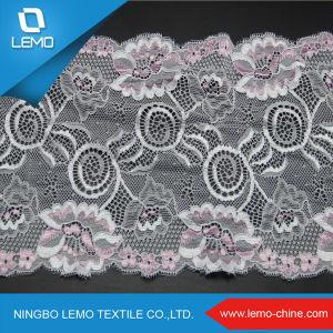 New Design 15 Cm Width Elastic Lace pictures & photos