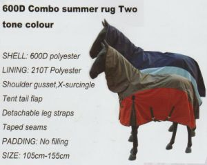600d Polyester Waterproof Horse Gear pictures & photos