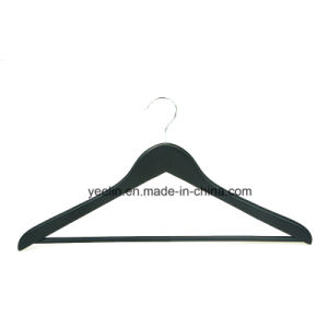 Factory Price Durable Wooden Clothes Hangers for Display, Hanger Set (YLWD-d1) pictures & photos