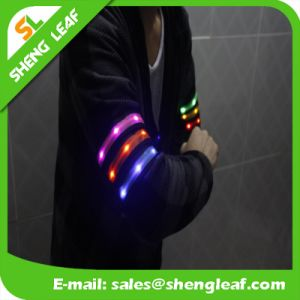 Custom Promotional Flashing LED Armband pictures & photos