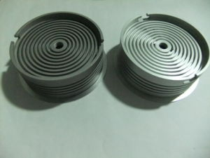 High Precision CNC Machining Aluminum Parts with Surface Brushing pictures & photos