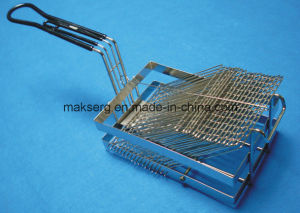Stainless Steel Fry Basket Turkey Style Customized Size pictures & photos
