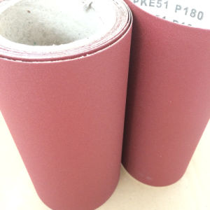 Aluminum Oxide Sand Paper Pke51 180# for Wood Grinding pictures & photos