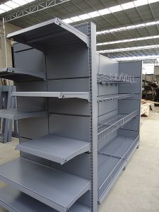 Double Side Supermarket End Rack pictures & photos