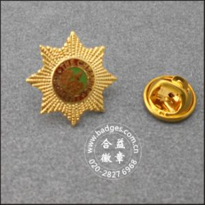 Military Badge, Security Badge with Diamond (GZHY-KA-027) pictures & photos