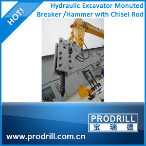 Cat Excavator Box Silent Type Hydraulic Breaker with Chisel pictures & photos