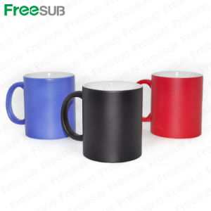 China hot selling wholesale price 11oz sublimation Temperature sensitive glass