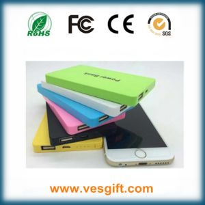 Ultra-Slim 6000mAh External Charger Mobile Power Bank Phone Charger pictures & photos