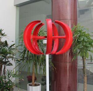 200W Hot Selling Red Lantern Vertical Axis Small Windmill (SHJ-NEV200R) pictures & photos