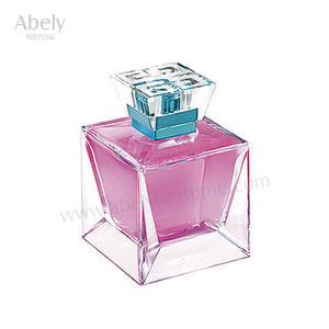 100ml Customized Pink Apple Brand Perfume Glass Perfume Bottle pictures & photos