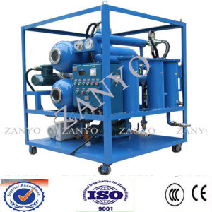 Double Stage Vacuum Insulating Oil Dehydration Machine pictures & photos