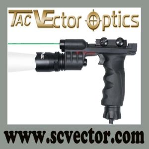 Vector Optics 500 Lumens Rechargeable Fore Grip Handle Green Laser Flashlight Combo (SCFX-06) pictures & photos