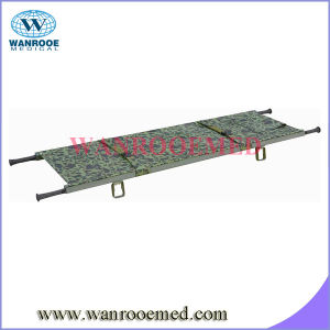 Ea-1e1 Load Capacity Aluminum Alloy Foldaway Stretcher with Two Fold pictures & photos