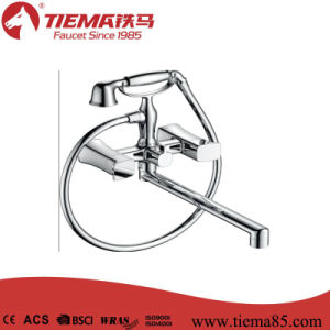 Taizhou Factory Brass Shower Mixer with High Quality (ZS67002A) pictures & photos