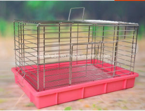 Electroplate Stainless Steel Rabbit Cage pictures & photos