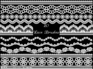 Hot Selling White Stretch Lingerie Lace Trims pictures & photos